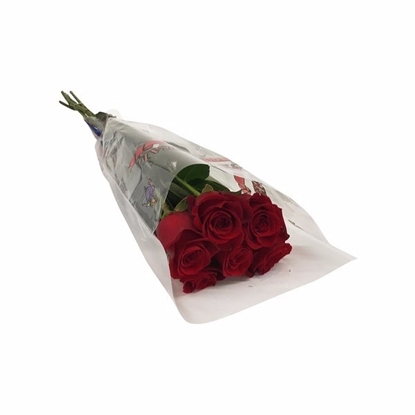 Picture of 6 Stem Rose Bouquet