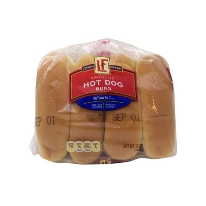 Picture of L'oven Fresh Hot Dog Buns