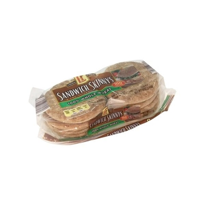 Picture of L'oven Fresh 100% Whole Wheat Sandwich Skinnys