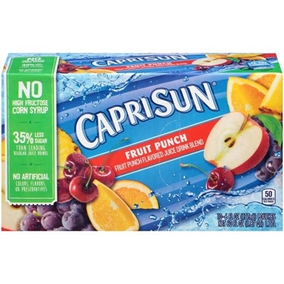 Picture of Capri Sun Fruit Punch Juice Drink