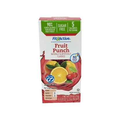 Picture of Fit & Active Single Serve Fruit Punch Drink Mix