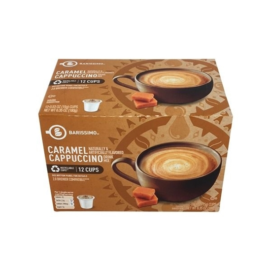 Picture of Barissimo Caramel Cappuccino Cups