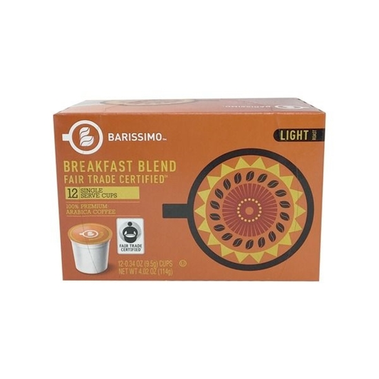 Picture of Barissimo Fair Trade Breakfast Coffee Cups