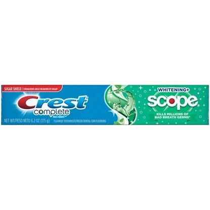 Picture of Crest Scope Crest Complete Whitening + Scope Minty Fresh Striped Toothpaste