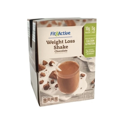 Picture of Fit & Active Chocolate Weight Loss Shakes
