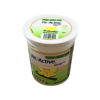 Picture of Fit & Active Vanilla Nonfat Yogurt
