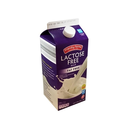 Picture of Friendly Farms Fat Free Lactose Free Milk