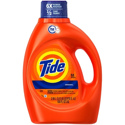 Picture of Tide Original Scent HE Turbo Clean Liquid Laundry Detergent