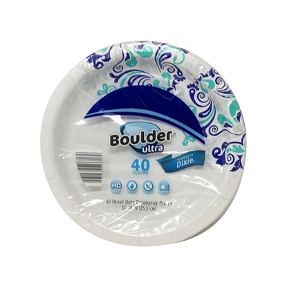 """Picture of Boulder 10"""" Ultra Heavy Duty Paper Plate"""