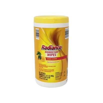 Picture of Radiance Lemon Disinfectant Wipes