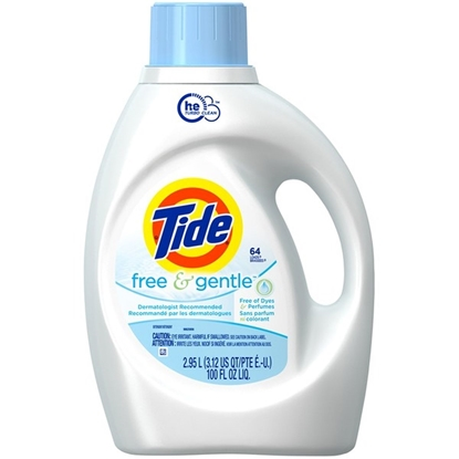 Picture of Tide Free & Gentle High Efficiency Laundry Detergent